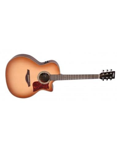 Vintage VGA900N Sweetwater Electro-Acoustic Guitar- Natural