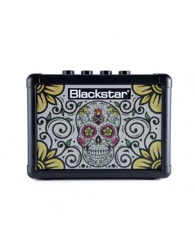 Blackstar Fly 3 Mini Guitar Amplifier - Sugar Skull