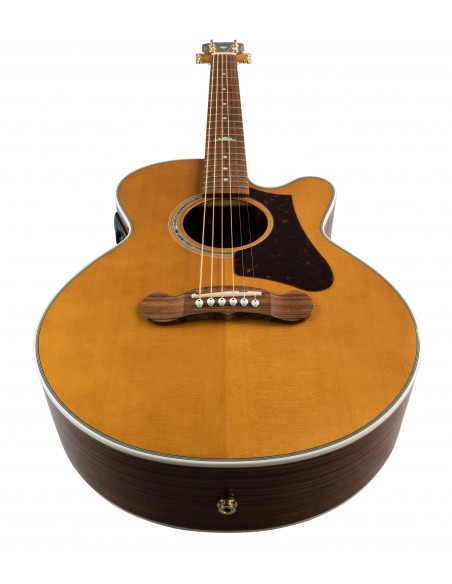 Epiphone EJ-200 Coupe Electro-Acoustic Guitar - Vintage Natural