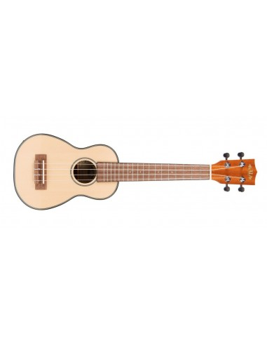 Kala KA-SSLNG Long Neck Solid-Top Soprano Ukulele