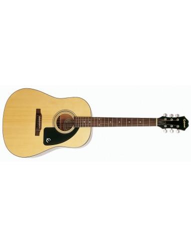 Epiphone AJ-100 Slope-Shoulder Dreadnought Acoustic Guitar - Natural