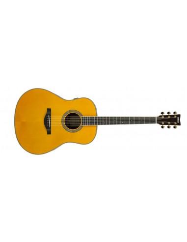 Yamaha LL-TA TransAcoustic Electro-Acoustic Guitar - Vintage Tint