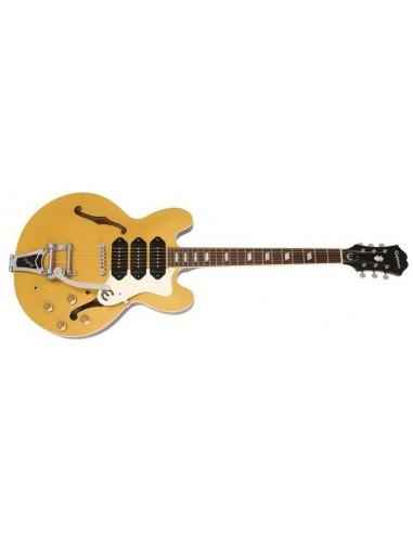 Epiphone Riviera Custom P93 Semi-Acoustic Guitar - Goldtop