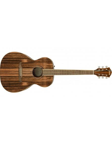 Fender FA-235E FSR Ltd Ed. Striped Ebony Electro Acoustic Guitar
