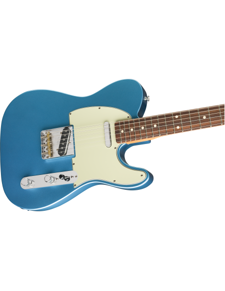 Fender Vintera 60's Telecaster Modified Electric Guitar - Lake Placid Blue - Pau Ferro Fretboard