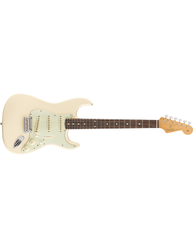 Fender Vintera 60's Stratocaster Modified Electric Guitar - Olympic White - Pau Ferro Fretboard