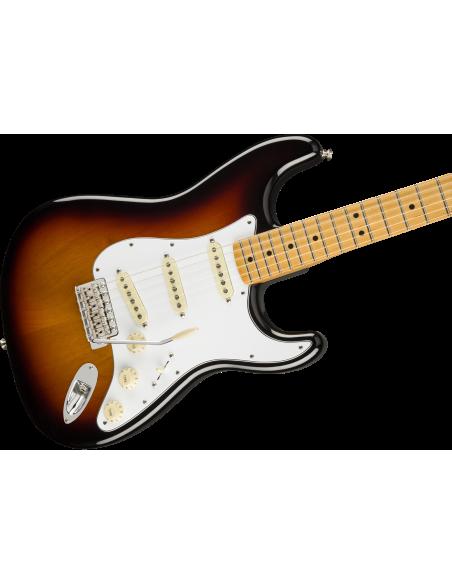 Fender Jimi Hendrix Stratocaster Electric Guitar - 3-Tone-Sunburst - Maple Fretboard