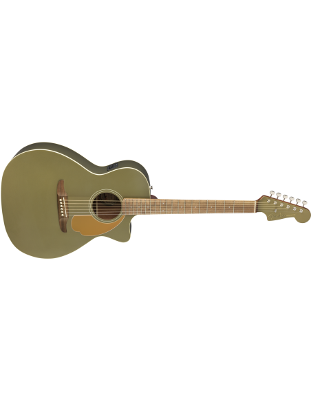 Fender Newporter Player Electro-Acoustic Guitar - Olive Satin