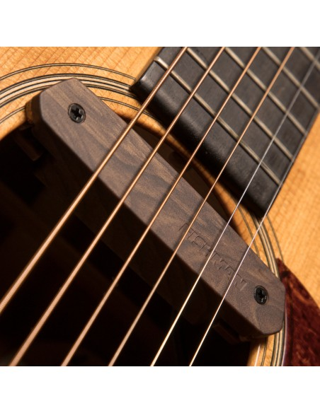Fishman Neo-D Single-Coil Soundhole Guitar Pickup - Woodgrain