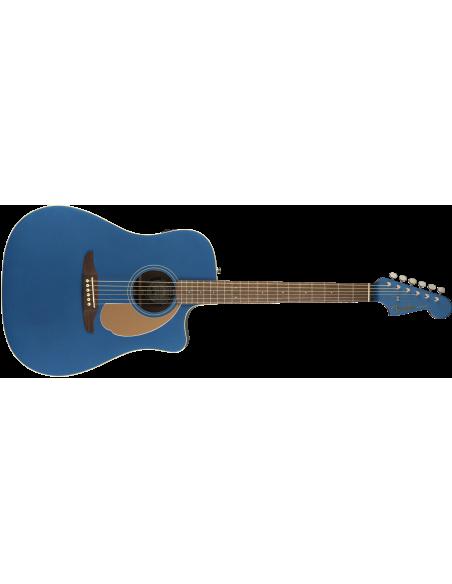 Fender Redondo Player Electro-Acoustic Guitar - Belmont Blue