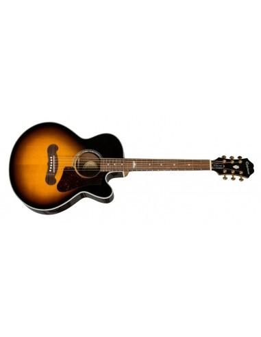 Epiphone EJ-200 Coupe Electro-Acoustic Guitar - Vintage Sunburst