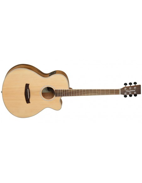 Tanglewood Discovery Super Folk Electro-Acoustic Guitar - Pacific Walnut