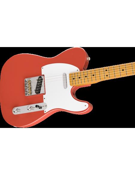 Fender Vintera '50s Telecaster Electric Guitar - Fiesta Red - Maple Fretboard