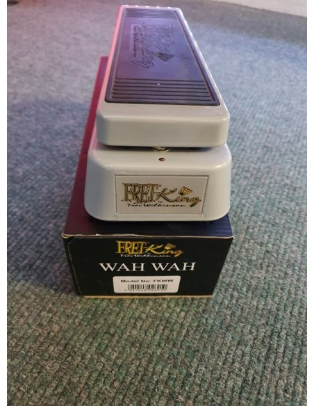 Fret King Wah Effects Pedal - Re-Sale (Great Condition)