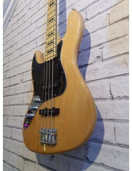 Squier Vintage Modified 70s Left-Handed Jazz Bass Guitar - Re-Sale (Great Condition)