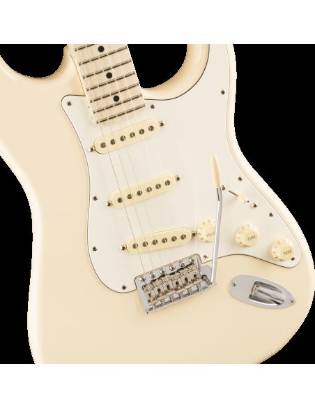 Fender Ltd Ed. American Performer Stratocaster - Olympic White - Maple Fretboard