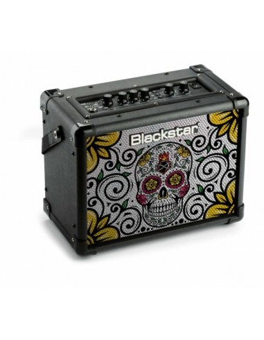 Blackstar ID:Core 10 V2 Electric Guitar Amplifier - Ltd Ed. Sugar Skull
