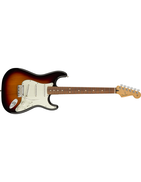 Fender Player Series Stratocaster Electric Guitar - 3 Tone Sunburst - Pau Ferro Fretboard