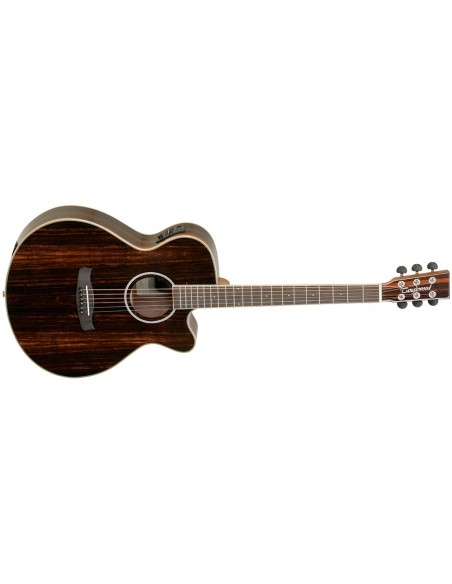 Tanglewood Discovery Super Folk Electro-Acoustic Guitar - Ebony