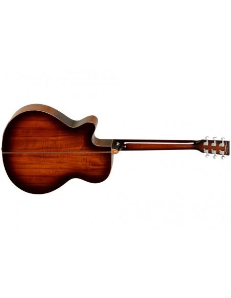 Tanglewood TW-4-E Koa Super Folk Electro-Acoustic Guitar
