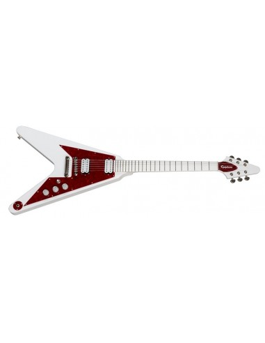 Epiphone Dave Rude Flying V Electric Guitar Outfit - Alpine White