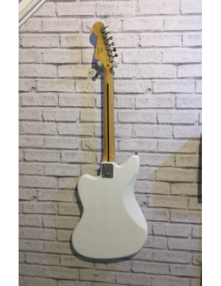 Squier Vintage Modified Jazzmaster Electric Guitar - Olympic White - Pre-Loved (Great Condition)