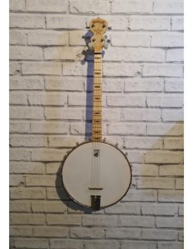 Deering USA Goodtime 17-fret Short Scale Tenor Open-Back Maple Banjo - Preloved (Great Condition)