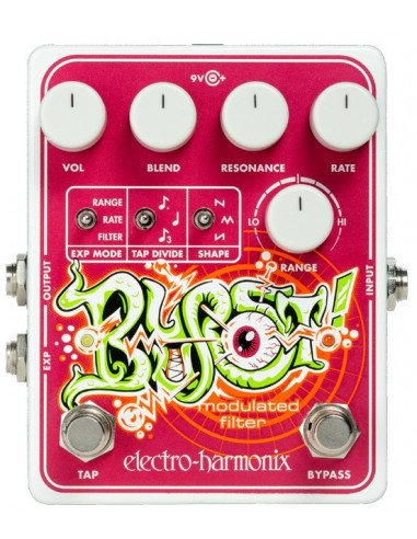 Electro Harmonix Blurst Modulated Filter Guitar Effects Pedal