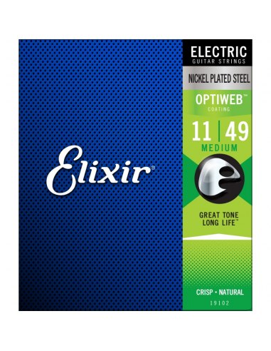 Elixir Optiweb Nickel Electric Guitar Strings