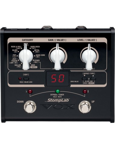 Vox Stomplab 1G Multi-Effect Guitar Pedal