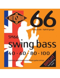 Rotosound 'Swing Bass' Steel on Steel Bass Guitar Strings
