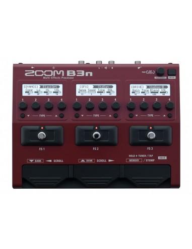 Zoom B3N Bass Guitar Multi-Effects Processor