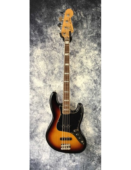 Fender Classic '70s Jazz Bass - 3-Tone Sunburst - Rosewood Fretboard - Pre-Loved (Great Condition)