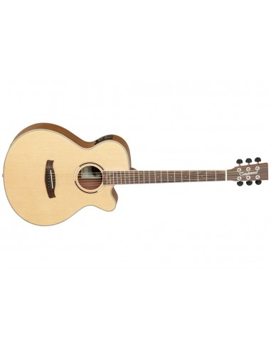 Tanglewood Discovery Super Folk Electro-Acoustic Guitar - Ovangkol