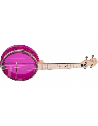 Goldtone Little Gem Ukulele Banjo - Amethyst