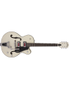 Gretsch G5410T Electromatic 'Rat Rod' Semi-Acoustic Guitar With Bigsby - Matte Vintage White