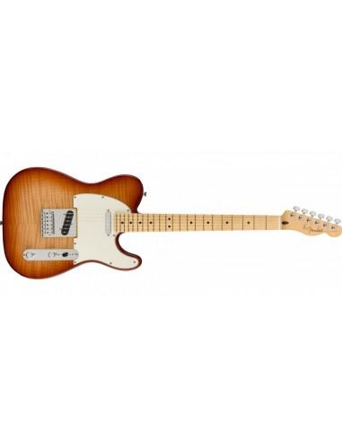 Fender Player Series Telecaster Electric Guitar - 3 Tone Sunburst - Pau Ferro Fretboard