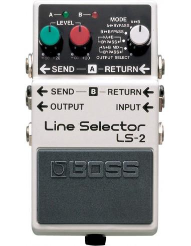 Boss LS-2 Line Selector Guitar/Bass Effects Pedal