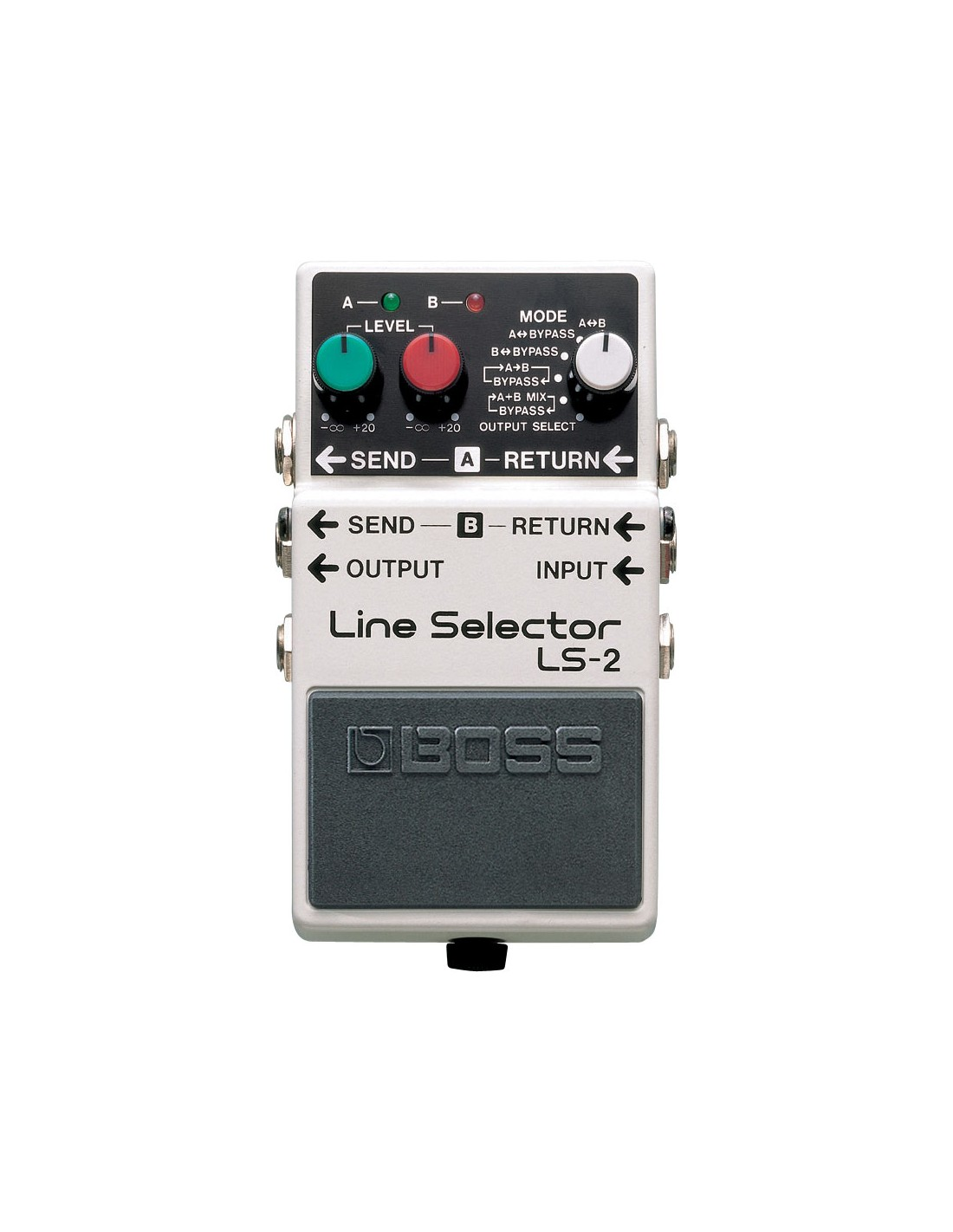 boss ls 2 line selector guitar bass effects pedal. Black Bedroom Furniture Sets. Home Design Ideas
