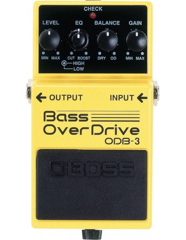 Boss ODB-3 Bass Overdrive Distortion Bass Effects Pedal
