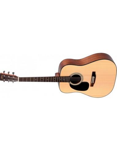 Sigma DM-1STL Solid-Top Left-Handed Acoustic Guitar