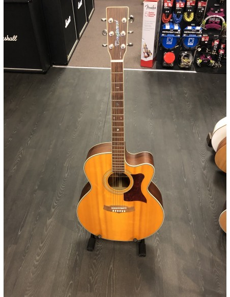 Tanglewood TW55 NS B Sundance Pro Series Super Jumbo Electro Acoustic Guitar - B-Band A3T - PRE-LOVED: (Great Condition)