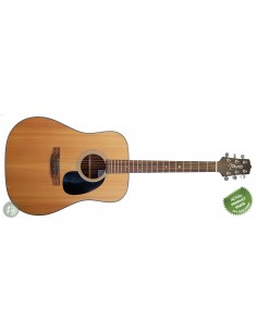 Brunswick BP500EM Solid-Top Parlour Sized Electro Acoustic Guitar - EX-DEMO: (Ex-Display Model)