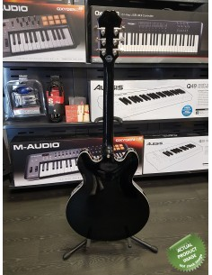 Fender Special Edition Jaguar HH Electric Guitar (Japan) - Black & Chrome - Rosewood Neck - PRE-LOVED: (Okay Condition)