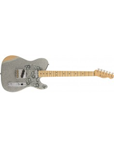 Fender American Professional Telecaster Electric Guitar - Olympic White - Rosewood Fretboard