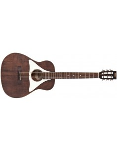 Yamaha APXT2 Thinline Electro-Acoustic Travel Guitar - Dark Red Burst