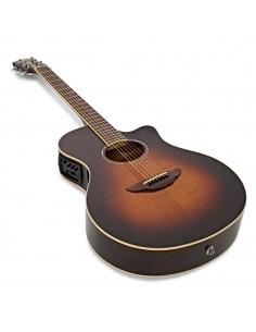 Squier Affinity PJ Bass Guitar Pack With Fender Rumble 15 Amplifier - Brown Sunburst